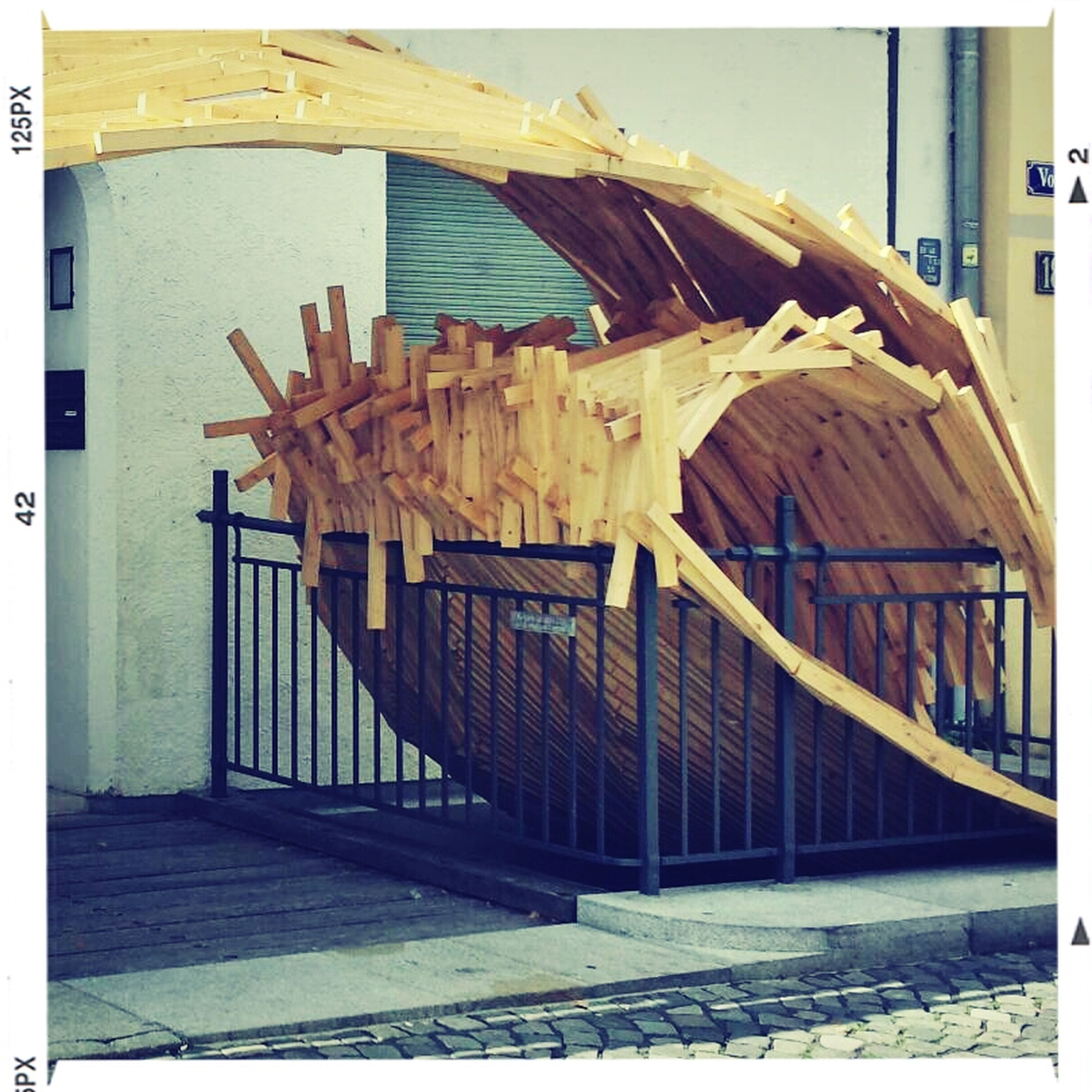 Surfs Up at the wooden wave in Augsburg