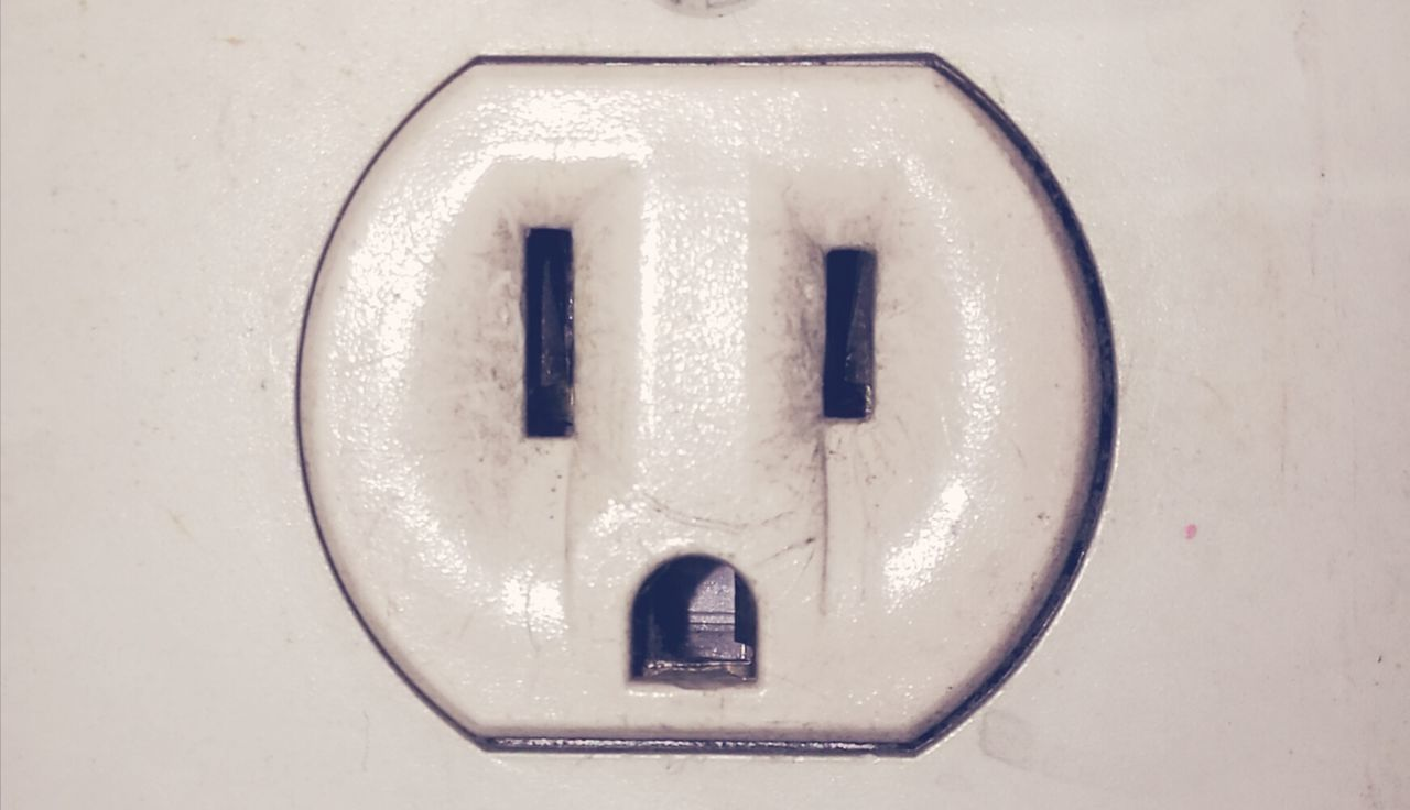 Close Up Technology Indoors  Close-up Connection No People Sunlight Electricity  Electric Wire Electricity Pole Wall Decor Powerline Plug Socket FacesOfEyeEm FaceShot Face Mask FacelessPotrait Faceless Close Up Technology