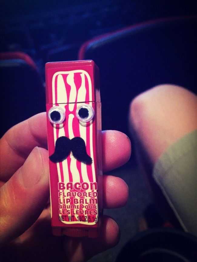 Anyone want bacon lip stick??