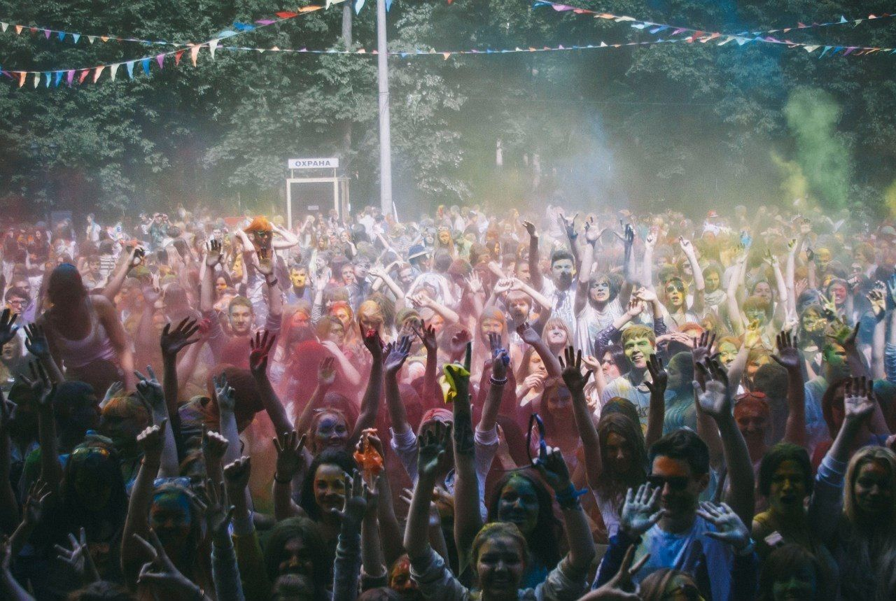 Beautiful stock photos of community, Celebration, Color, Crowd, Dancing