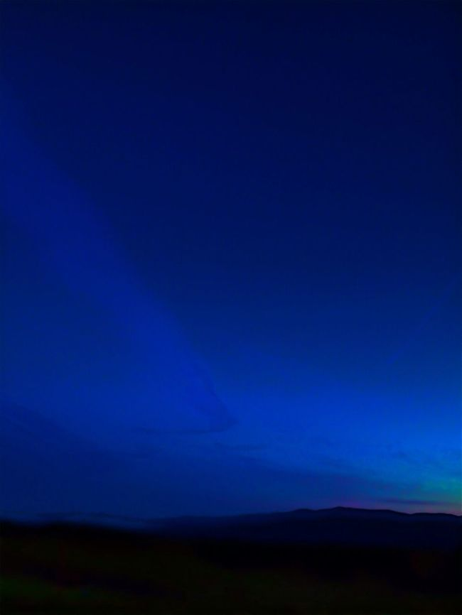 Sky Goodnight Landscape Blue