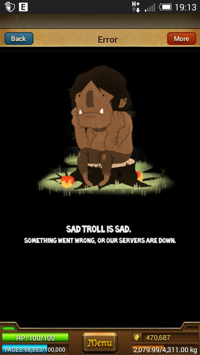 The Purist (no Edit, No Filter) Parallel Kingdom Playing Games On Line Sad But True  Oh No!!! Troll