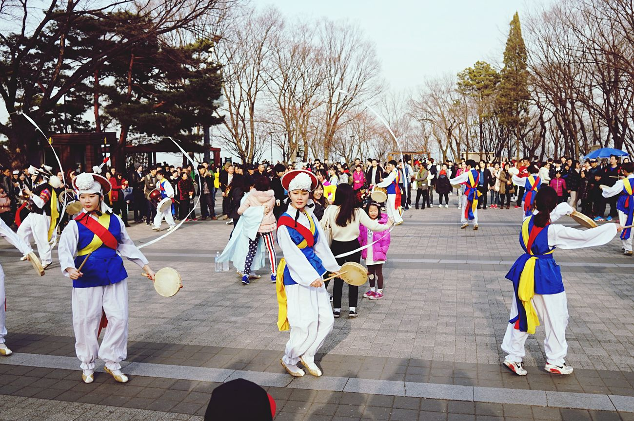 Namsan Korean Samulnori Korean Festivals Korean Traditonal QX1 My Country In A Photo