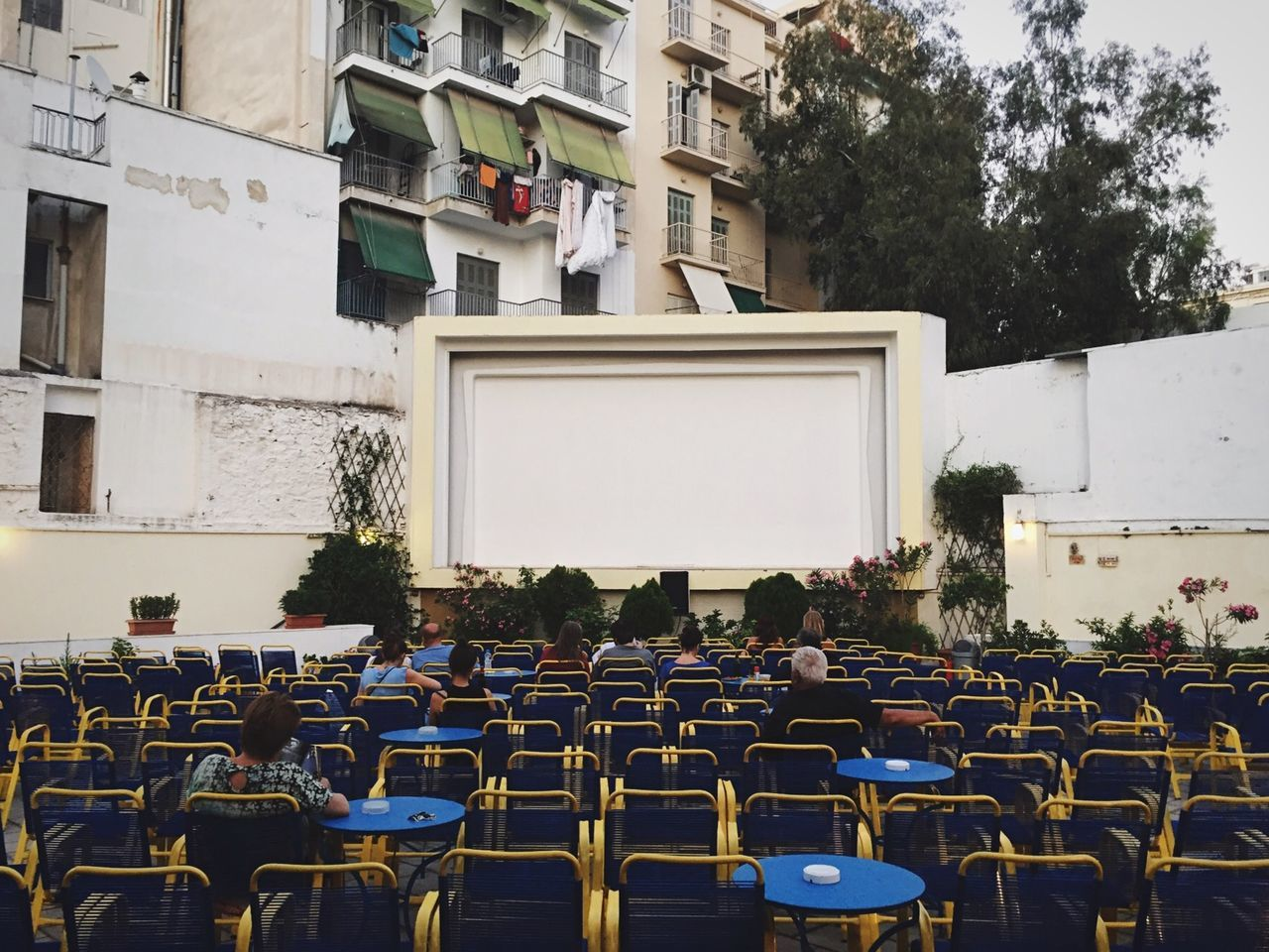 Open Air Cinema Open Edit Athens VisitGreece Exarchia Cinema EyeEm Best Shots Retro Hipster Theater