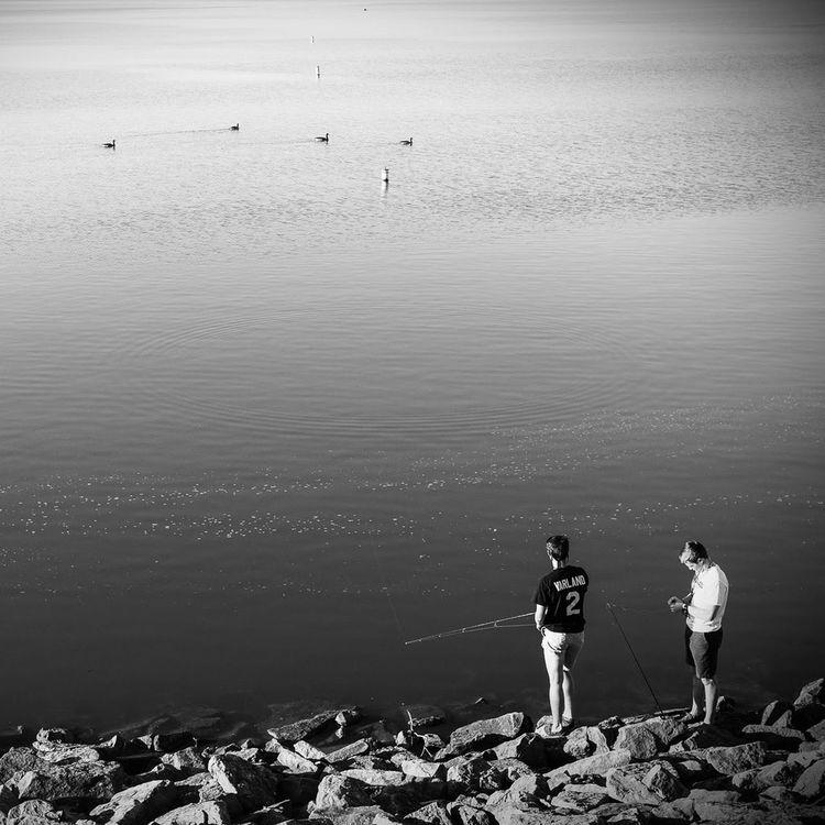 Fishing Hoover Reservoir Blackandwhite Streetphotography Street Olympus Olympus Pen-f