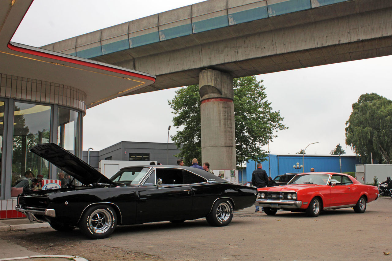 Car Day Dodge Fuel And Power Generation Gas Gas Station Muscle Cars No People Oldtimer Outdoors Stationary Transportation Vintage Vintage Cars