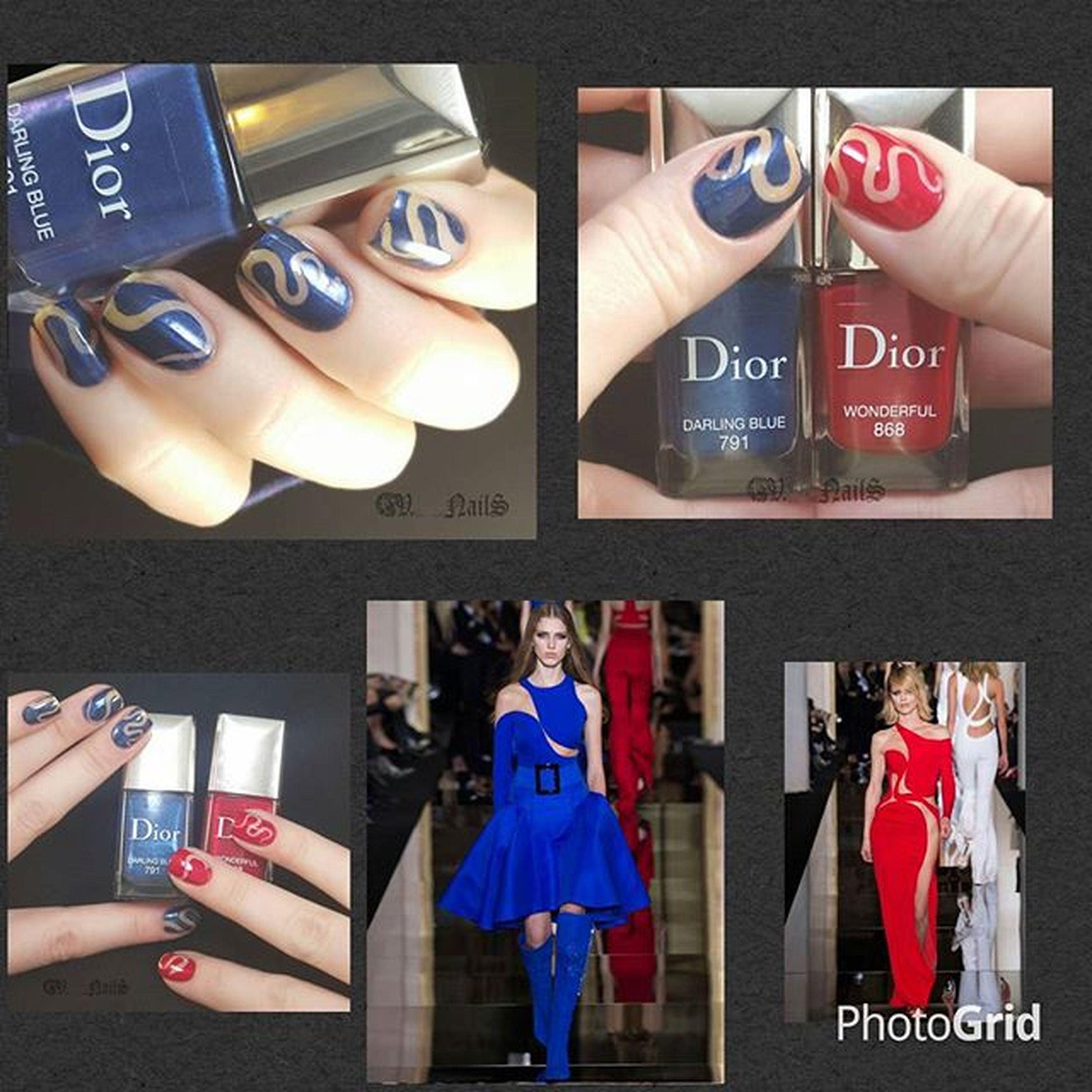 Нельзя просто так заполучить эту ультрамодную длину и не воспользоваться материалами Марины @bertram_bunny с маникюрныйинстаграм (maniinsta.com)😂 (на самом деле я рыдаю над этими крохотными ногтями) 1.Главный новый тренд осени — ногти правой руки одного цвета, а левой — другого. Эту тенденцию можно было заметить на многих показах. Не стал исключением и Dior . При таком покрасе допускается комбинация текстур, например, крем и маталлик, но цвета должны быть гармоничны, даже если они контрастны. Например, можно сочетать серый и розовый, но не стоит так экспериментировать с зеленым и желтым. 2. NegativeSpacenail (сделенный при помощи змеек от Rocknailstar , привет трафаретныйэкстаз ) 3.Вневременная классика — красный. И оттенки синего. (diordarlingblue diorwonderful ) и спонсор коллажа и вдохновения показ дома Версаче.