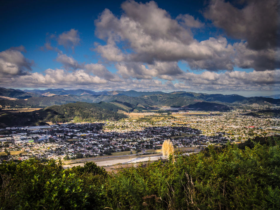 Landscape Over Upper Hutt City Cloud Hills Landscape Outdoors Scenics Up High Upper Hutt
