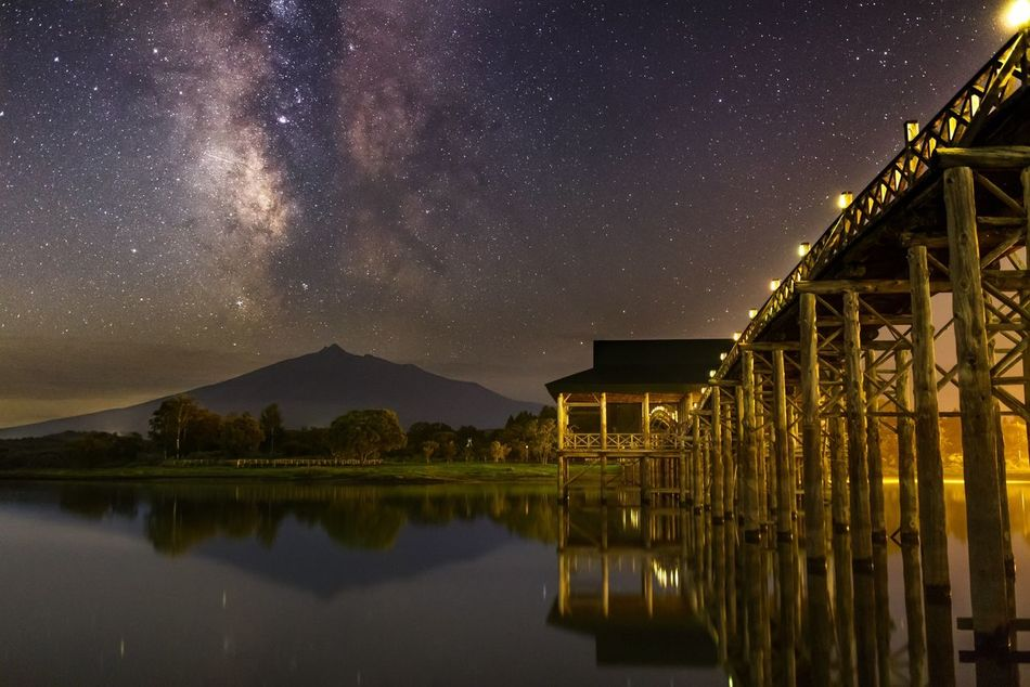 Beautiful stock photos of stars, Beauty In Nature, Built Structure, Dramatic Sky, Dusk