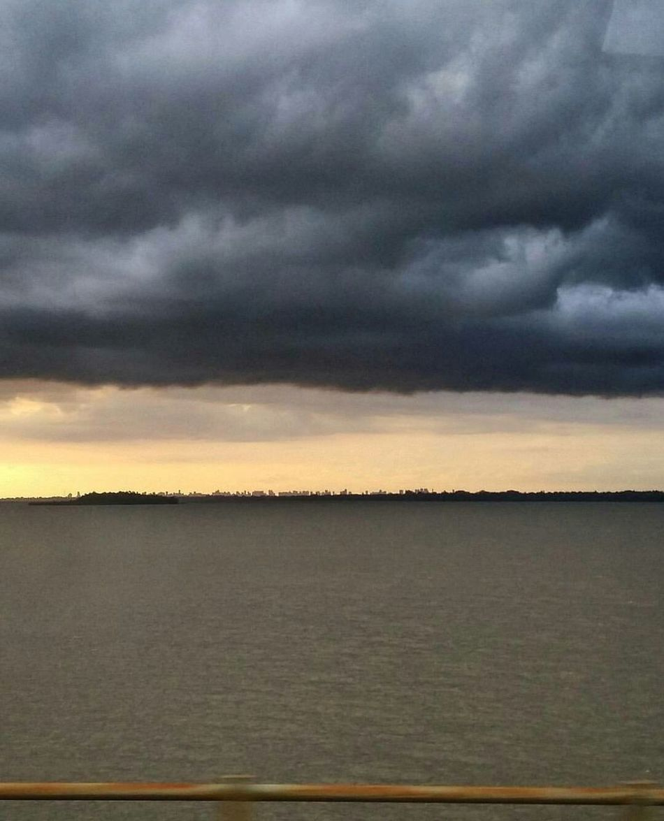 Chuva sobre Belém PADe Dramatic Sky Scenics Nature Beauty In Nature Rain Storm Cloud Sunset Moody Sky Cloud - Sky Outdoors Sky No People Storm Water Thunderstorm Day