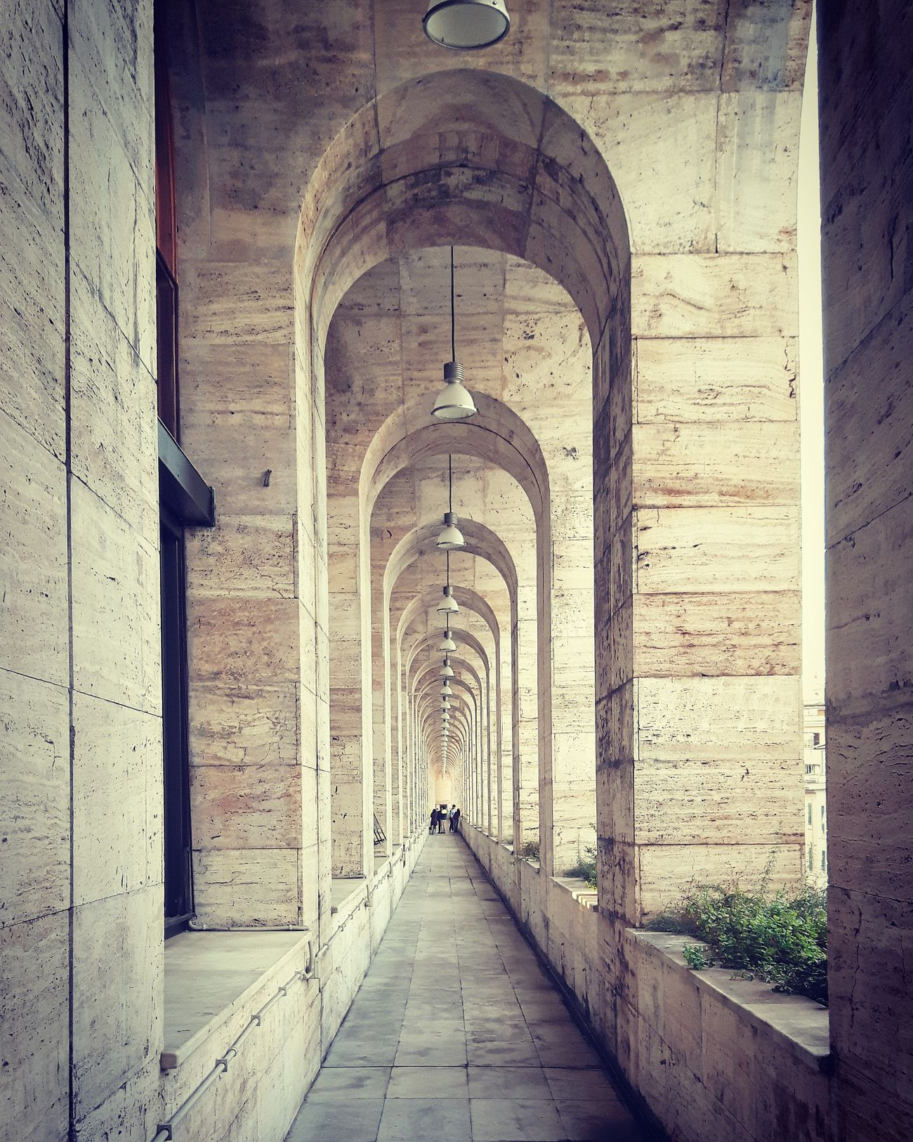 Architecture Building Exterior Outdoors No People Day Built Structure Arch Rome Italy Infinity Infinite. Loop Luiss First Eyeem Photo