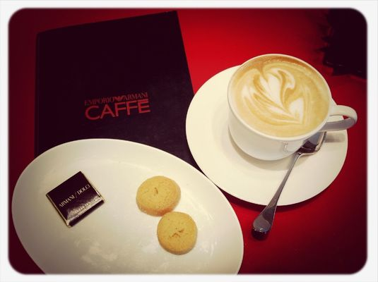 Coffee at Giorgio Armani Spa by PH+