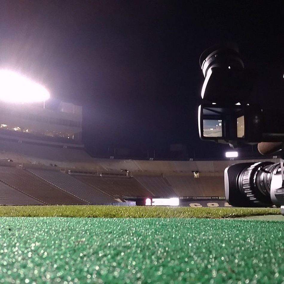 Long day wrapped up w a new RF test. Tomorrow is Gameday Collegefootball Week4 Colorado