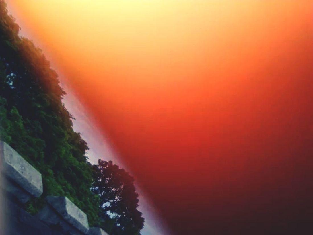 Sun Burn Shillouette Sun ☀ Nature
