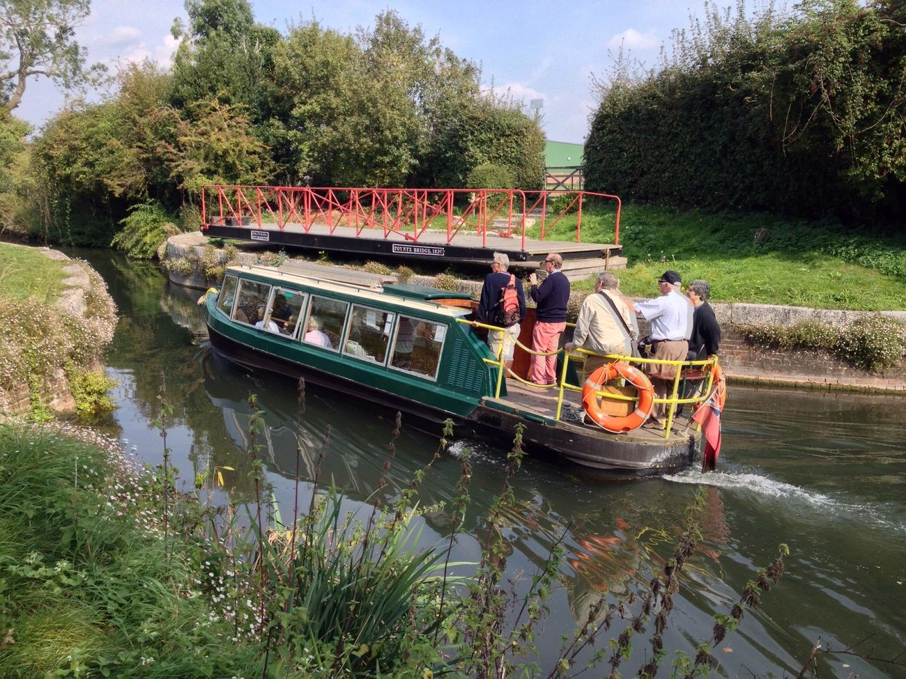 Boating Canal Boat On The Water Old Boat