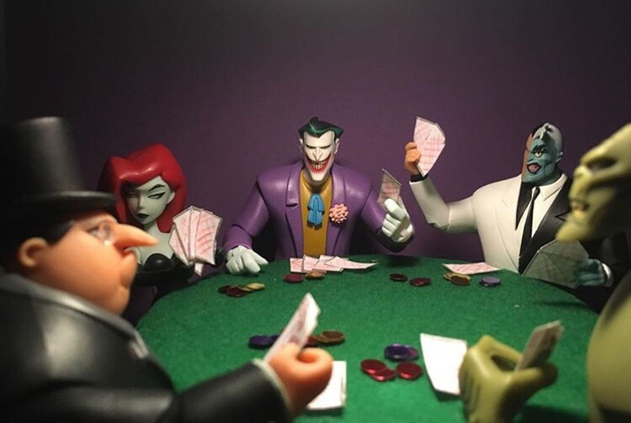 """Almost got 'I'm"" First Eyeem Photo Batmananimatedseries Batman And Robin Rogues' Gallery"