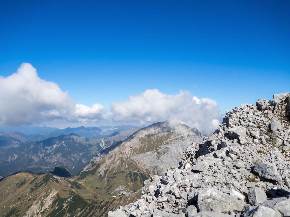 #Alps Alpen Alps Blue Sky Mountain View Mountains Sunny Day Österreich