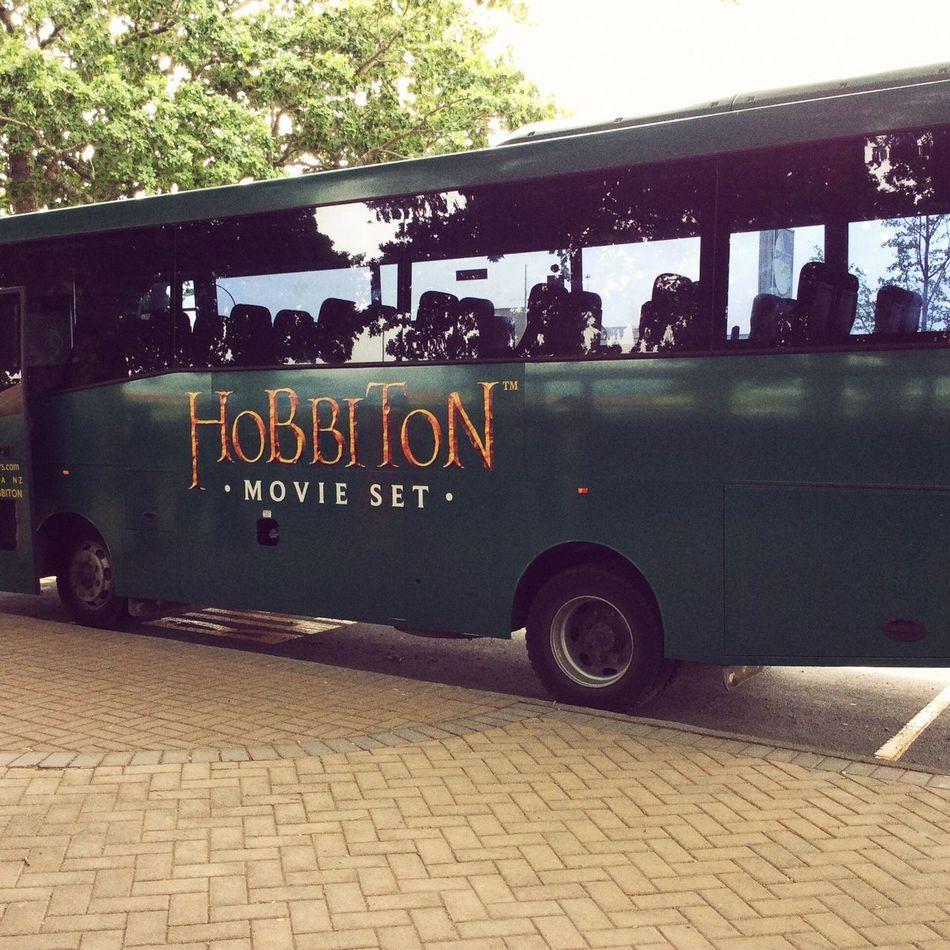 I can't wait! Matamata Newzealand Hobbiton Movie Set Tours Hobbiton TheHobbit MiddleEarth Bus