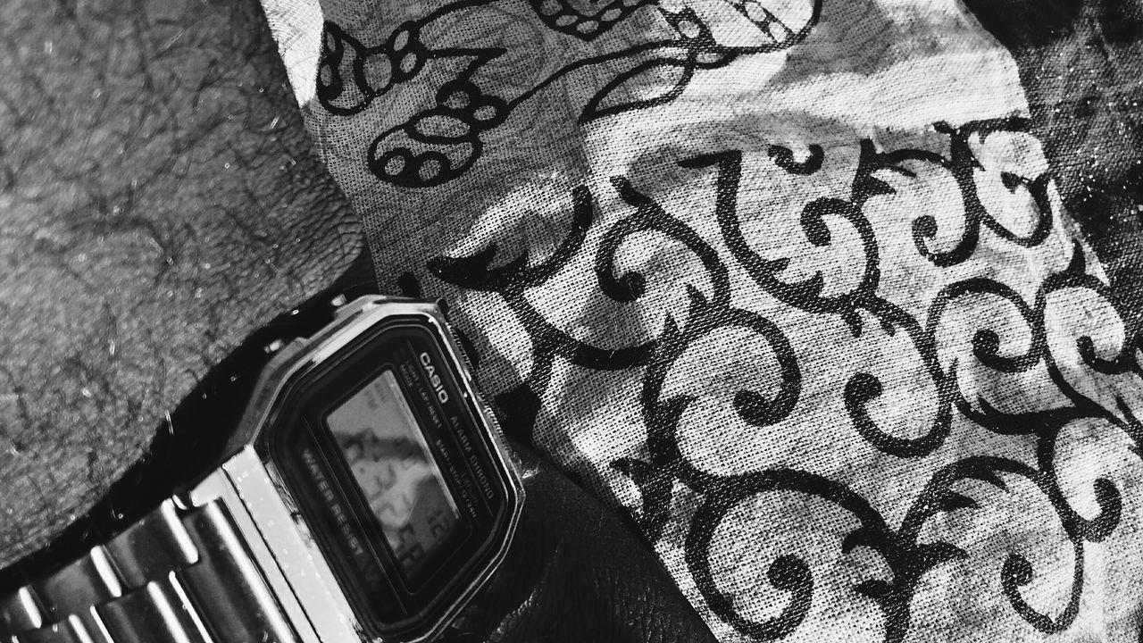 Casio Watch Casio Casiowatch Day Blackandwhite Black And White Photography Outdoors