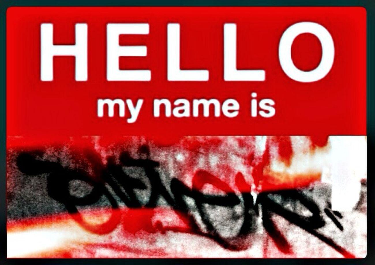 "Hello, My Name Is... "" Oliver "" !!! Stickerart & Taken Pictures @Puschkinallee, Berlin"
