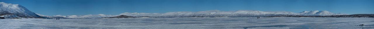 Abisko Beauty In Nature Close-up Cold Temperature Kiruna Nature No People Outdoors Panorama Scenics Sky Snow Sweden Winter