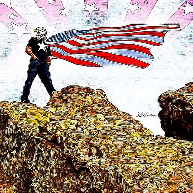 """From every mountain side Let Freedom ring. ~Samuel F. Smith, """"America"""" Happy Fourth of July"""