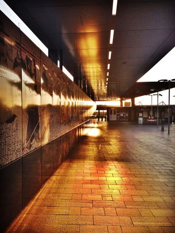Newtown Mornings. Sunrise Good Morning Train Station City Urban Geometry Streetphotography Check This Out Checking In Walking Around Architecture