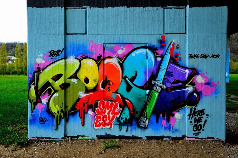 Graffiti Street Art Boogie Urban Art