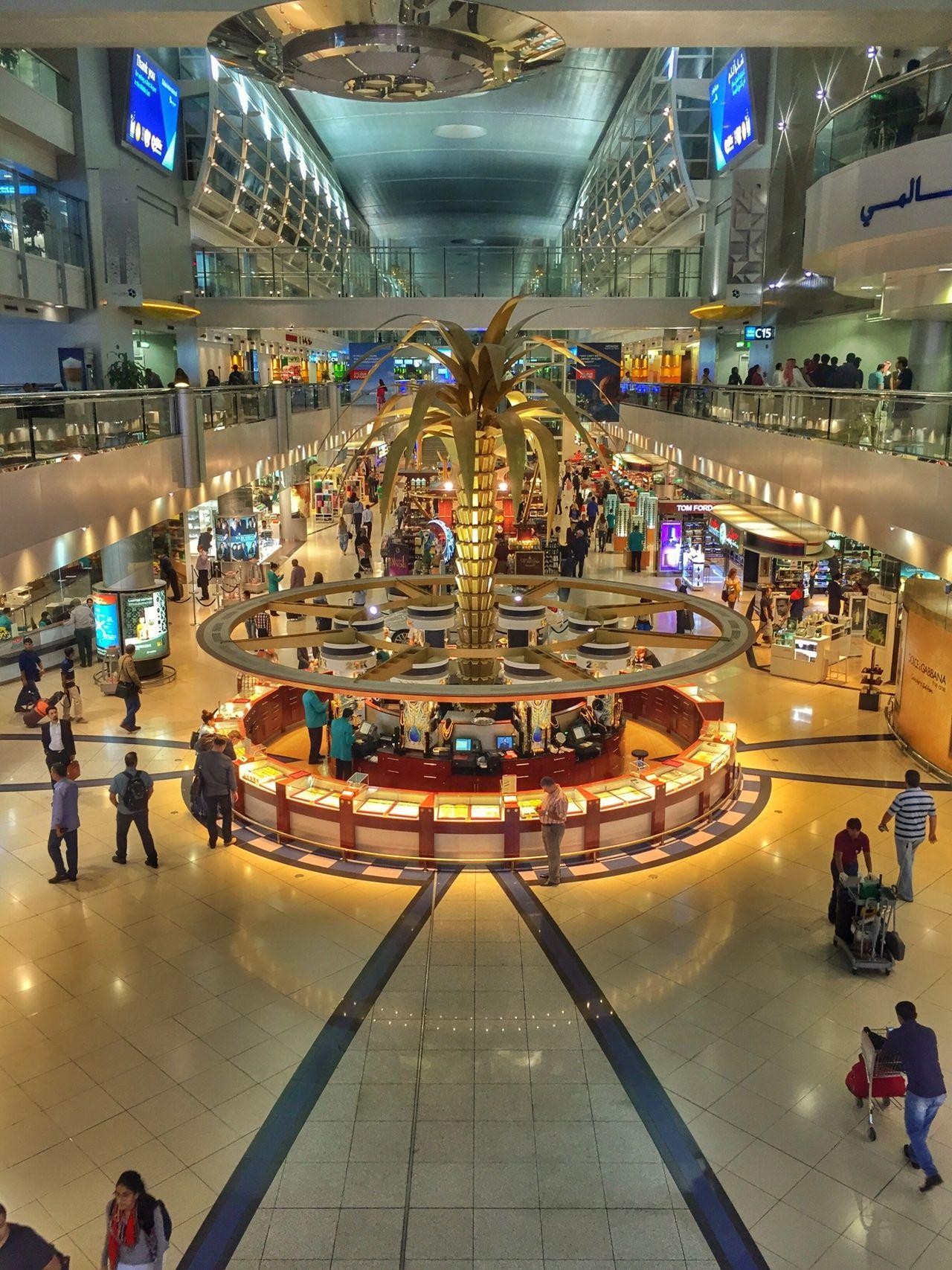 DXB Duty Free Shop Airport