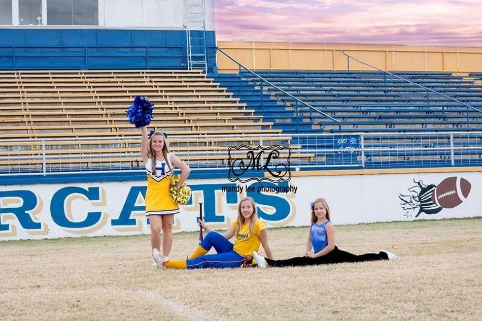 My three girls! My Beautiful Daughter Cheerleading Daughter