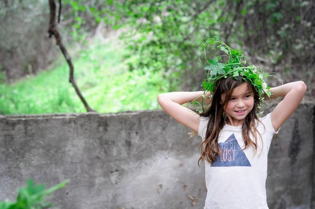 Flower Crown Little Girl Lets Get Lost Nature Exploring Nature Exploring Wanderlust Dreamy Greenery Showcase March Share Your Adventure