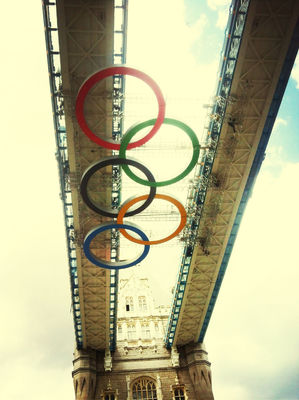 London 2012 at Tower Bridge by Yarsu