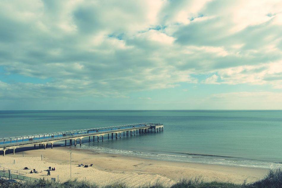 Boscombe Boscombe Pier  Pier Seaside Sea Beach Spring Nature Pretty Landscape