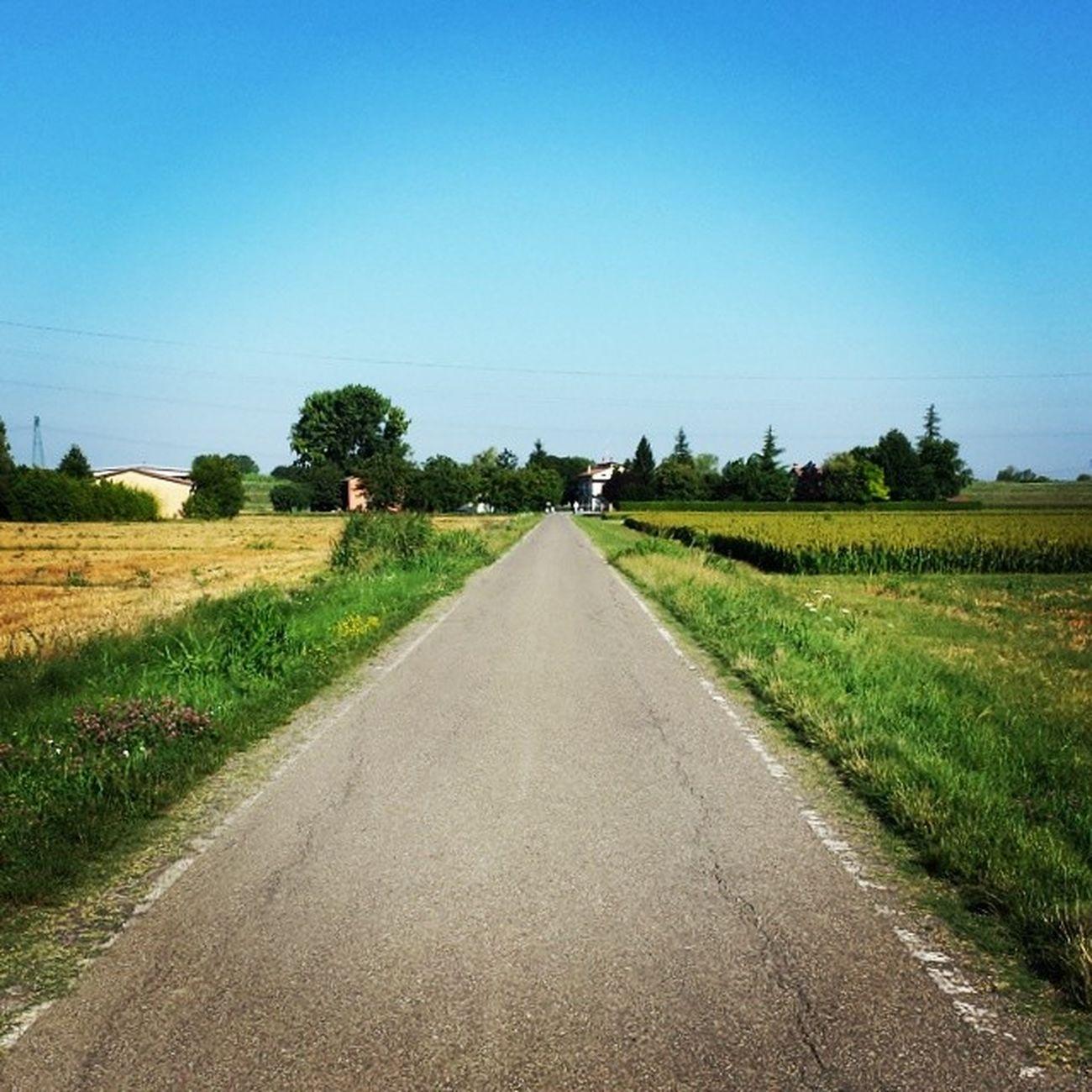 Metafora della Vitadiqualita . Non perdere di vista il fatto che c'è sempre una strada da percorrere tra te ed il tuo prossimo Obiettivo . Kaizen  marcocostanzophoto