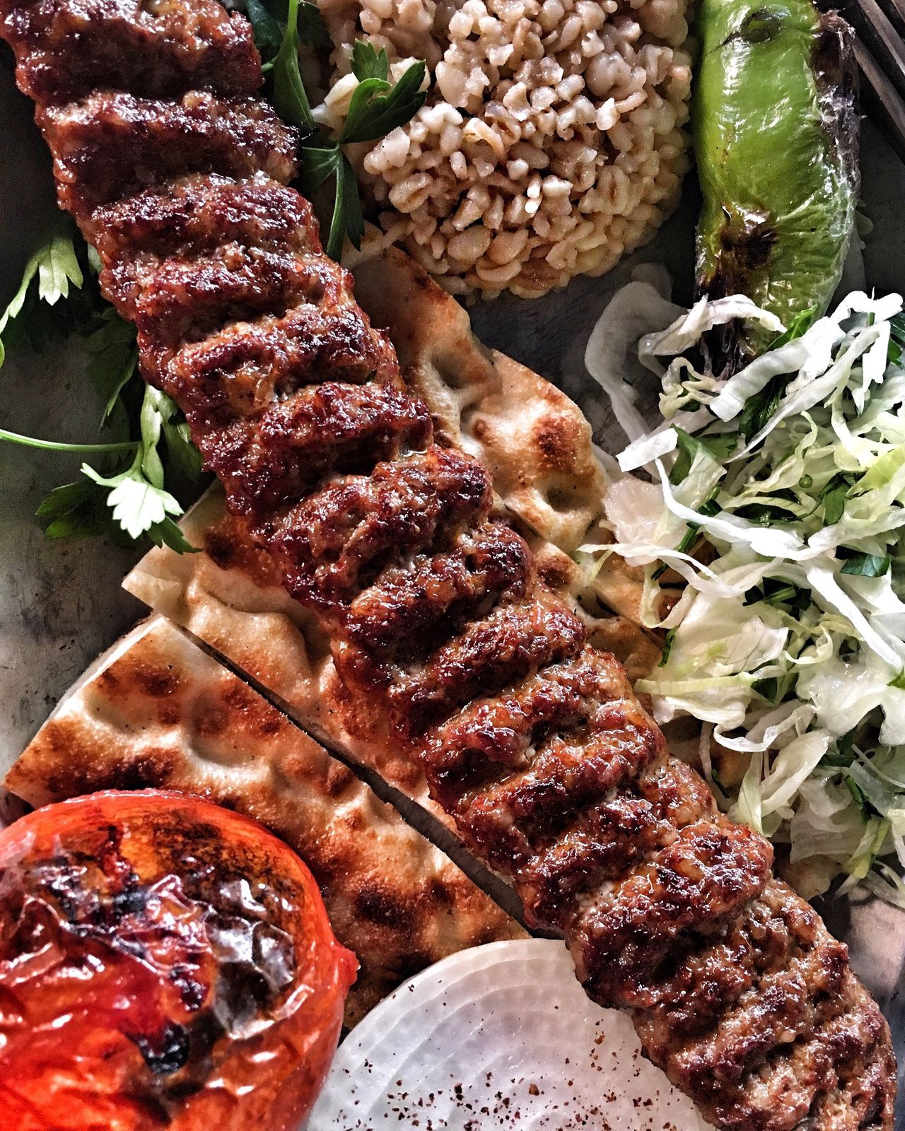 Food adventures in Turkey Food Meat Kebab Turkey Tirkishfood Healthy Eating Close-up Food And Drink Freshness Day Ready-to-eat Red Meat Restaurant Food Food Kebap Istanbul