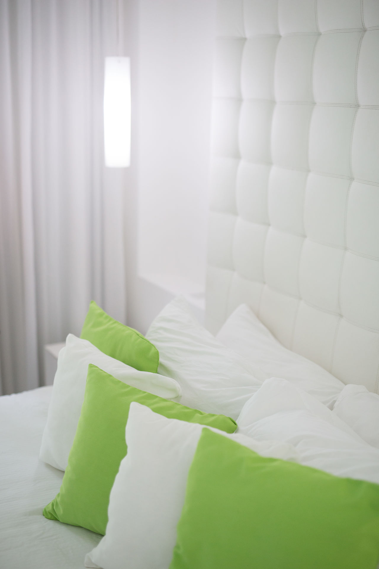 Beautiful stock photos of hotel, Bedroom, Close-Up, Curtain, Elevated View