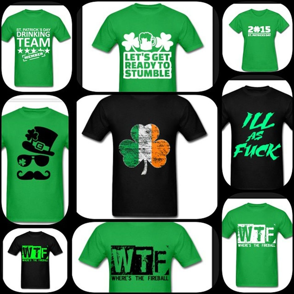 Get ready for St Patties with some ILLapparel Getreadytostumble WTF ILLasFUCK 2015 mustache top hat womens mens clothing fashion customized drinkingteam irish flag absolutelyILLshit designer personalized for you happy ILiveLife™ business entrepreneur jimbosports
