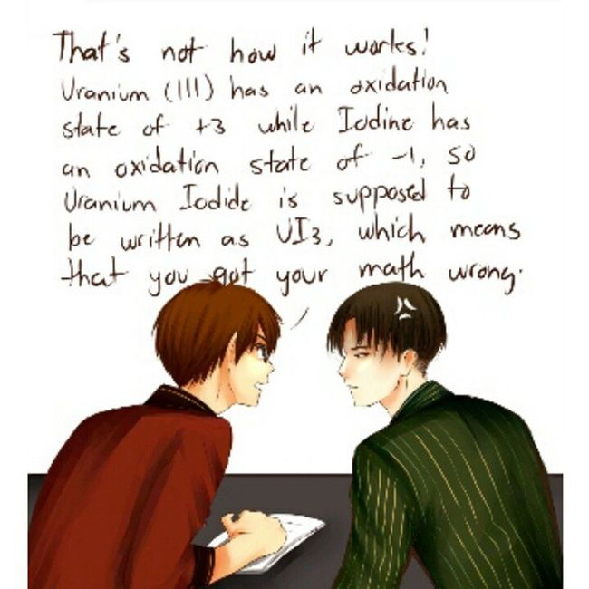 I don't understand a word Eren said cause it has to do with math and I suck at math. Mathisevil Eren Levi Ereri ATTACKONTITAN