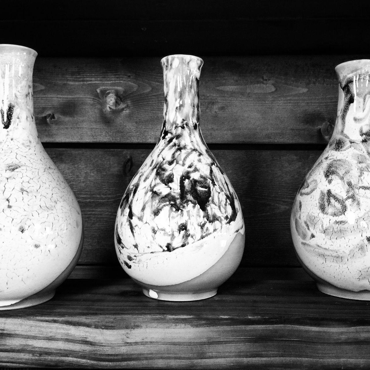 Pottery Pottery Art Ceramic Jars  Tea Time Blackandwhite Monochrome EyeemKorea