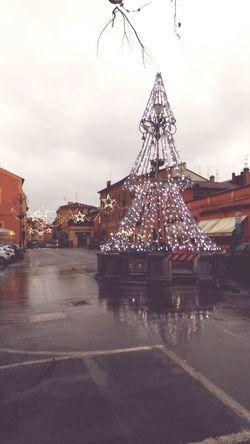 Natale  Luci Natalizie Illuminazione Decorazione Luminosa Arts Culture And Entertainment Sky Cloud - Sky Ferris Wheel Rollercoaster Amusement Park No People