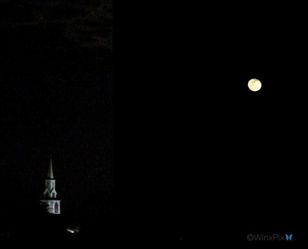 """Church under the moonlight"". Moonlight Moon_collection Moonshine Moonphotography Night No People Bella Luna Moon Shots Lunalunera Moon Lover"