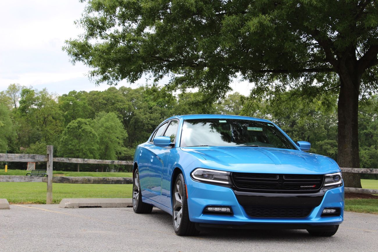 Blue thunder Dodge Dodgecharger Cars