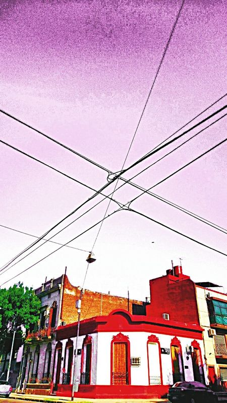 Streetphotography Cables And Knots Sky