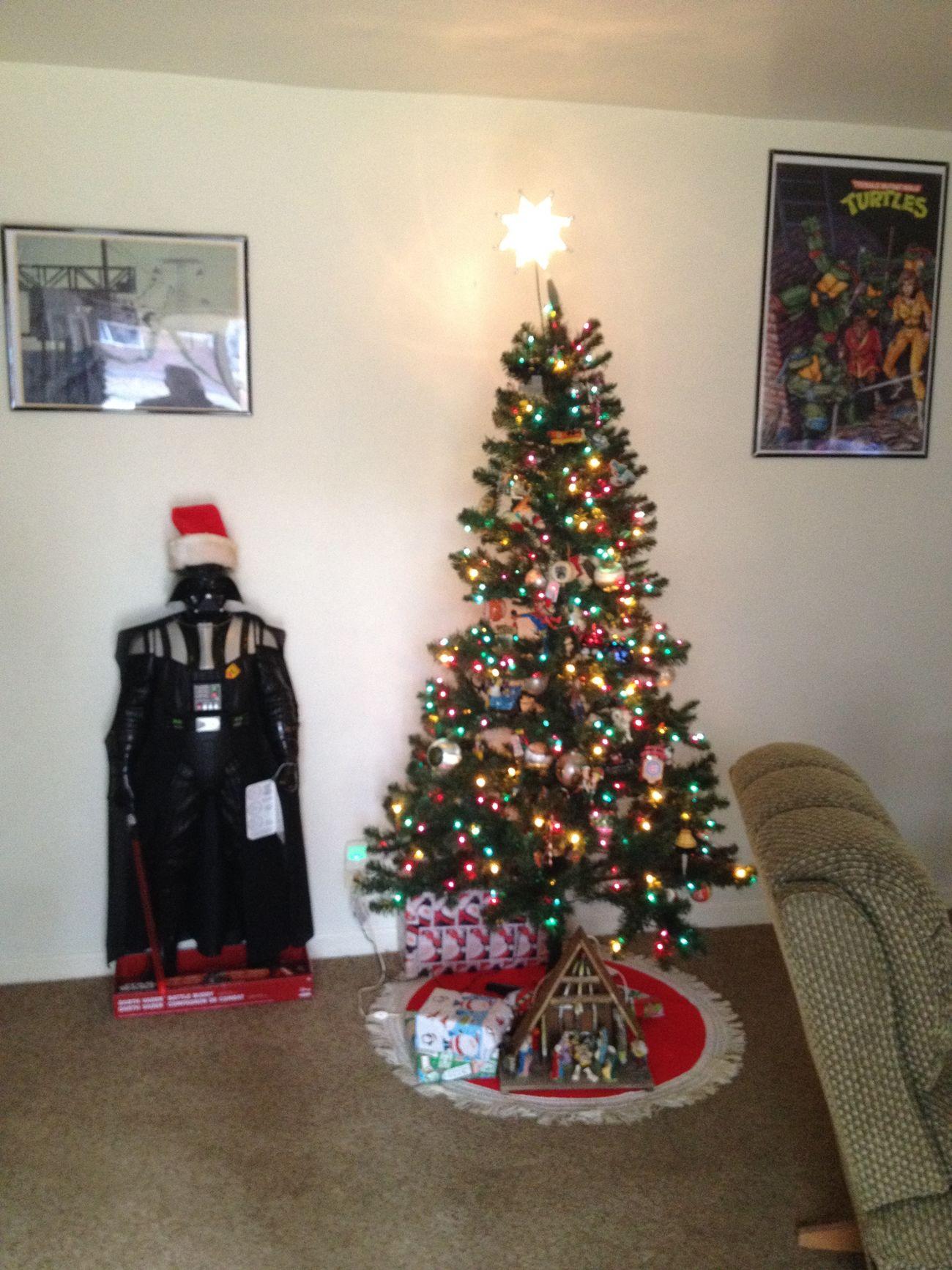 Xmas Tree Darth Vader