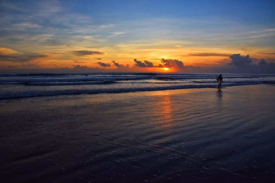 June 2016 Sports Photography Feel The Journey Sunset Enjoying The Sun Sunset_collection Seaside Swimming Sea And Sky Nature's Diversities Summer  People And Places