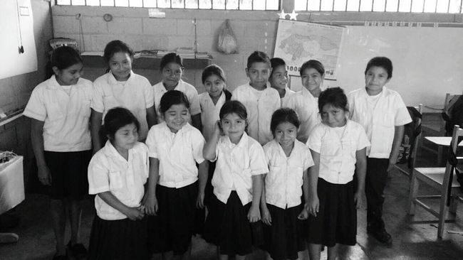 Monochrome Photography Honduras Lencas Large Group Of People Young Adult Friendship