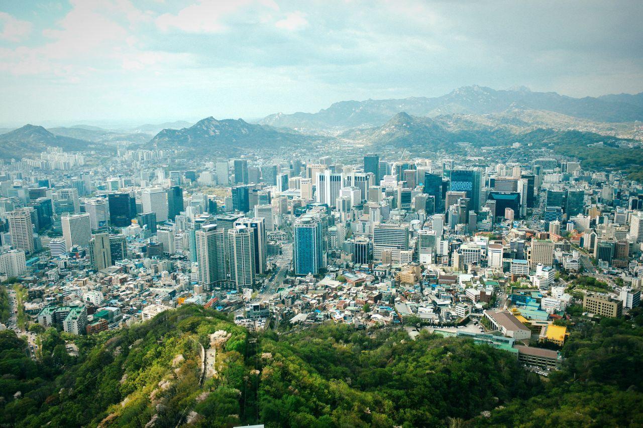 Beautiful stock photos of seoul, Architecture, Building Exterior, Built Structure, City