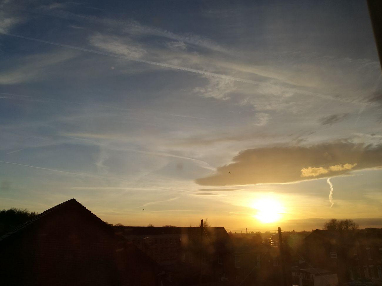 sunset #sun #clouds #skylovers #sky #nature #beautifulinnature #naturalbeauty photography landscape Stalybridge Cheshire