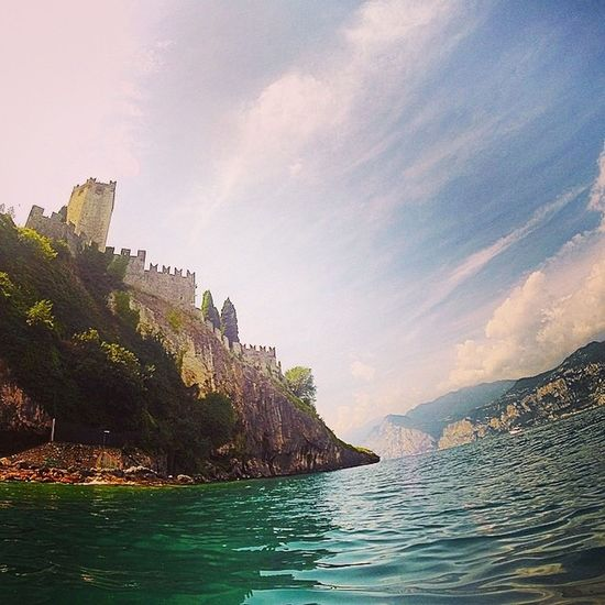 Malcesine Castle Castles Castle Walls Castle Ruin Jamesbond Filmset Quantomofsolice Beautiful Beach Picoftheday Italy World_shotz Lake View LakeGarda Nationalgeographic_ Lonley Planet Travel Photography Tranquil Scene Ocean View Lakeside Livingthedream Perfection Enjoying The View Italian Been There. Done That.