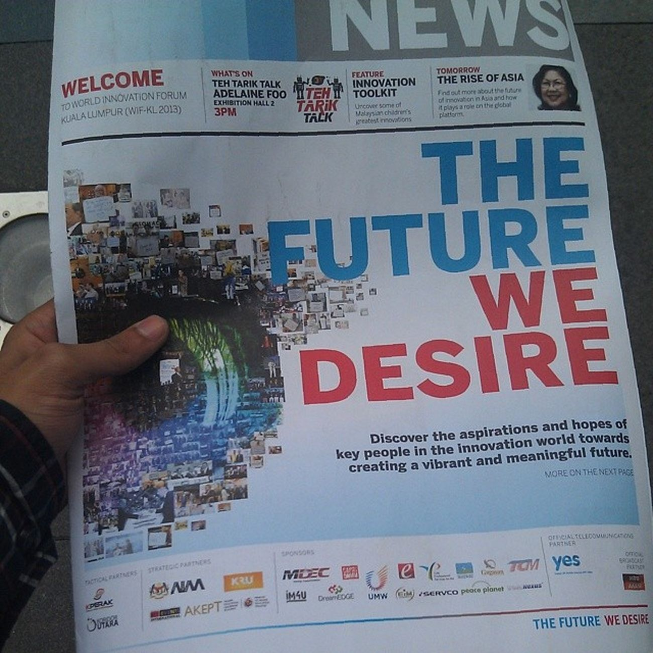The future we desire Attend Wifkl Klcc Conventioncenter KRU acadee kruacademy future today news